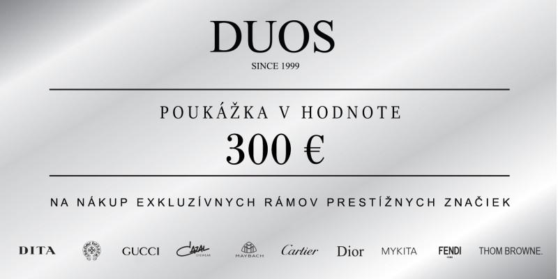 Darčeková poukážka 300€